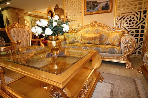 прекрасна мека мебел